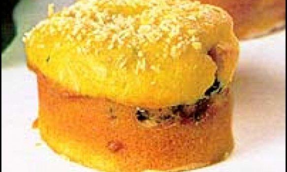 Minitorta de cenoura com espinafre (De liquididicador)