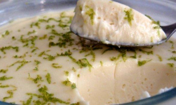 Mousse de Limão com Refresco em Pó