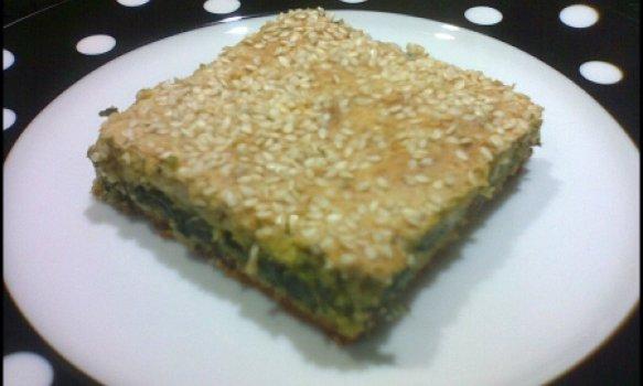 Torta de Aveia com Espinafre