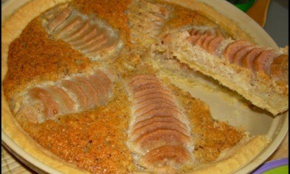Torta de Pera com Castanha do Pará