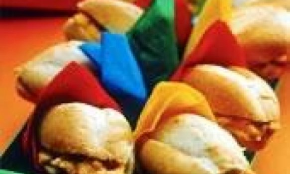 Sanduichinhos cremosos