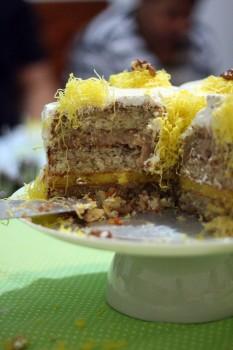 Torta de Nozes da Tia Lina