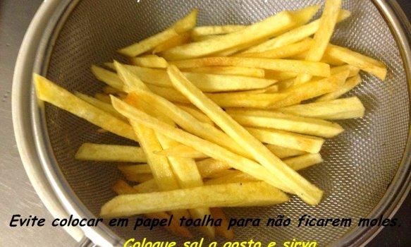 Batatas Fritas Sequinhas e Crocantes