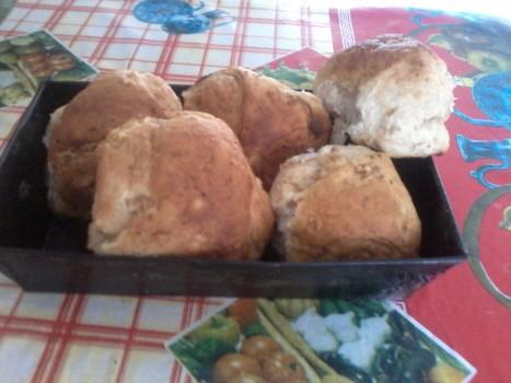 Pãozinho de Aipim com Mistura para Pão de Chia