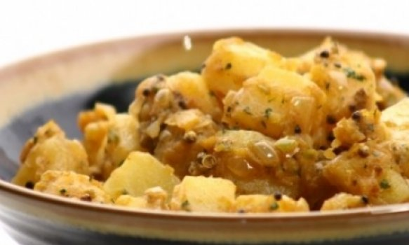 Batatas à Indiana (Tari Aloo)