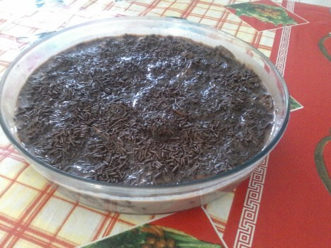 Torta de Bolacha com Banana