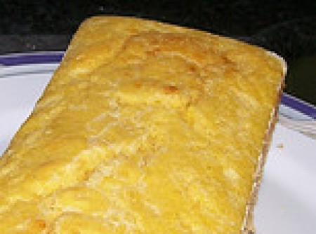 Pão de fubá da Miss Bessie