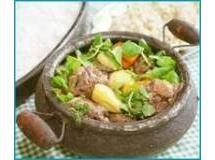 Rabada Light com Pirão e Legumes