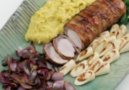 Lombo com bacon