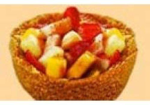 Cestinha com frutas