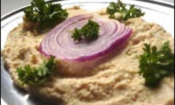 Pasta de Grão de Bico ou Hamus com Tahine