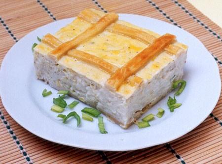 Torta Cremosa de Alho-poró | CyberCook