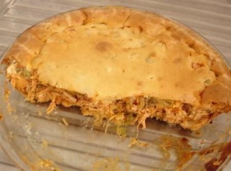 Torta light de frango rápida   Rita Eliana