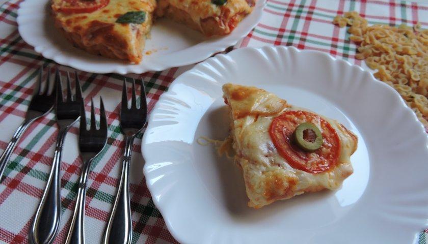 Pizza de Macarrão