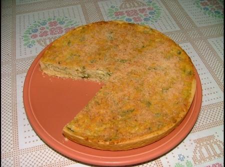 Torta de Alho Poró
