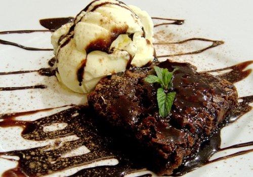 Brownie de Chocolate Econômico