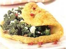 Panqueca de Batata com Brócolis e Ricota