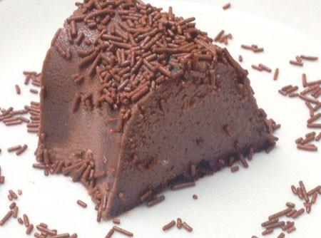 Pudim de Chocolate com Baunilha | CyberCook