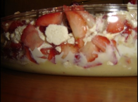 Sobremesa de Morango