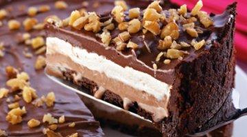 Torta de Sorvete e Cookies