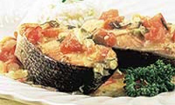 Moqueca de salmão
