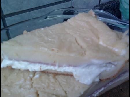 Torta Cremosa de Presunto e Queijo