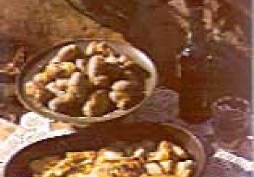 BACALHAU ASSADO COM BATATAS A MURRO -receita portuguesa