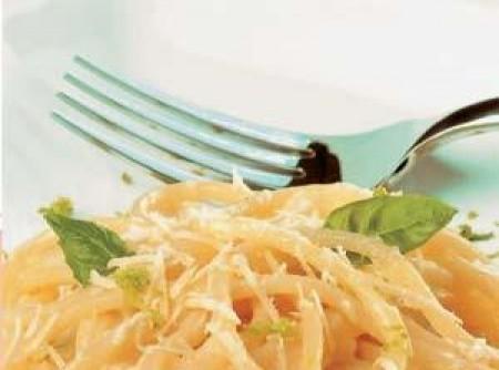 Espaguete com Molho de Limão