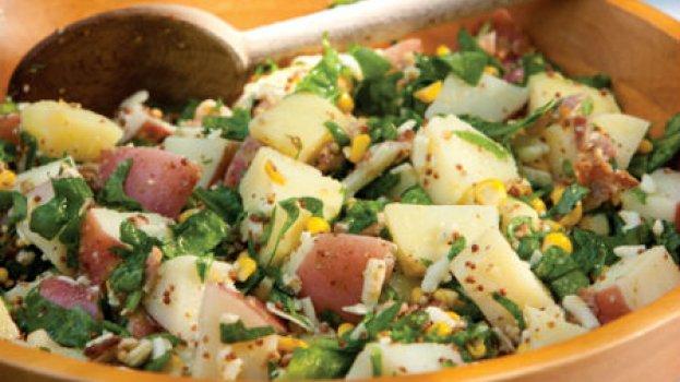 Salada de Batata Pérola e Milho