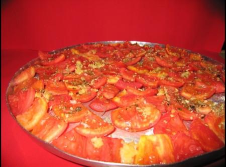 Tomates Assados À Redonda
