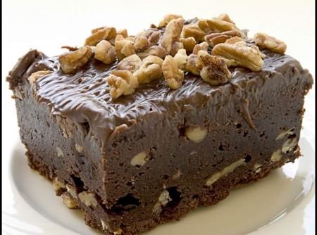Brownie de Chocolate e Nozes