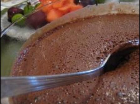 Creme de Chocolate Light com Iogurte