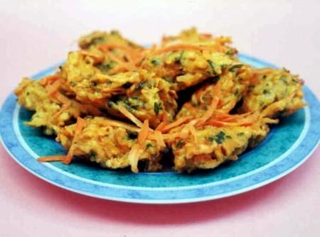 Bolinhos de Cenoura