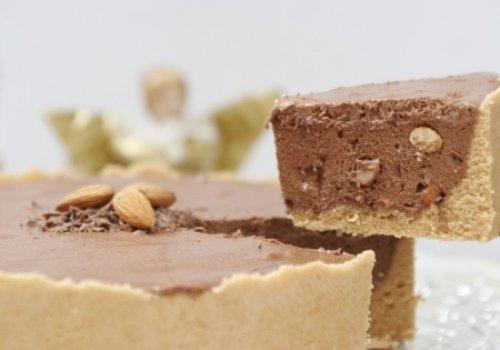 Torta de Amêndoas com Chocolate