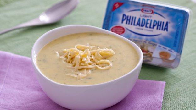 Sopa de Mandioquinha Philadelphia