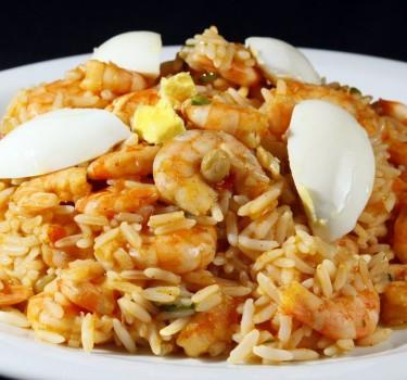 Risoto de Camarão do Restaurante