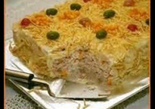 Torta de Frango no Pão de Forma