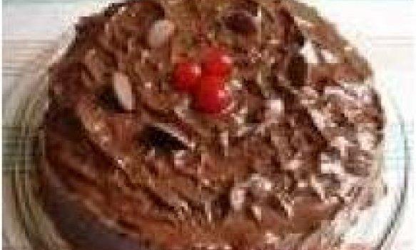 Bolo de Chocolate Molhado