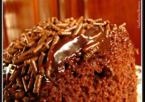 Bolo de Chocolate Prático sem Farinha