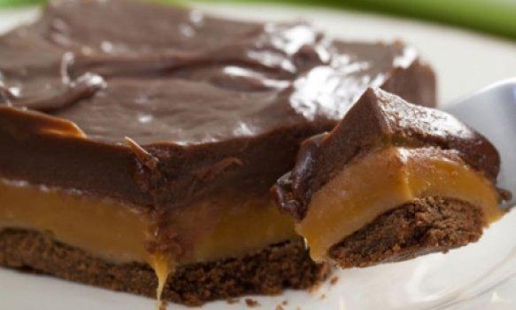 Chocolate com Caramelo Butter Toffees e Biscoito
