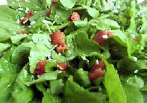 Salada de Rúcula e Tomate Seco