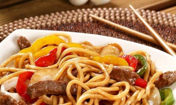 Lo Mein de Porco (COZINHA CHINESA)