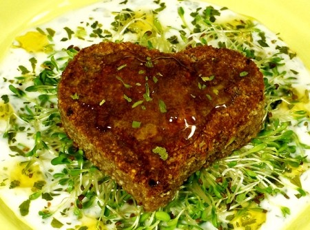 Coração de Paçoca de Carne