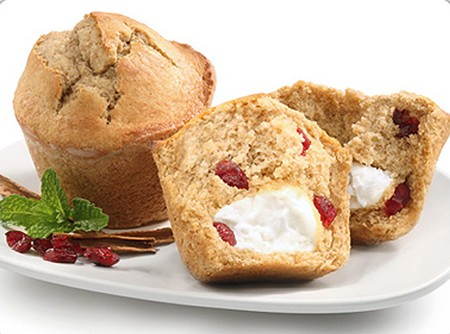 Muffins recheados com Philadelphia