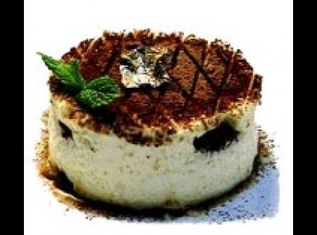 Tiramissú feito com Cream Cheese