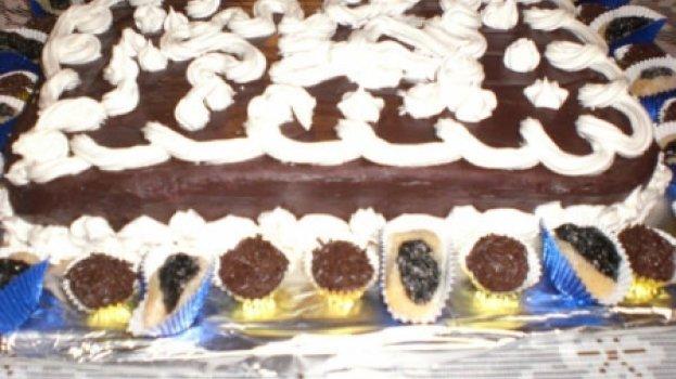 Bolo de Chocolate do Daniel