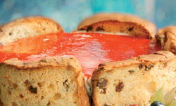 Cheesecake de Panettone