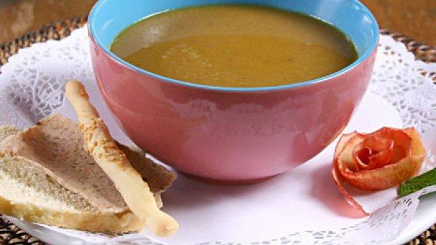 Sopa de Castanha e Maçã