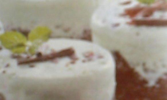 Gelado de avelã e chocolate