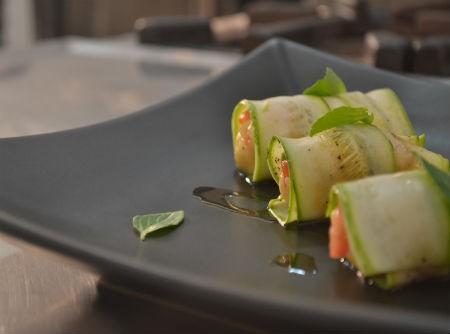 Sushi de Abobrinha | Organomix